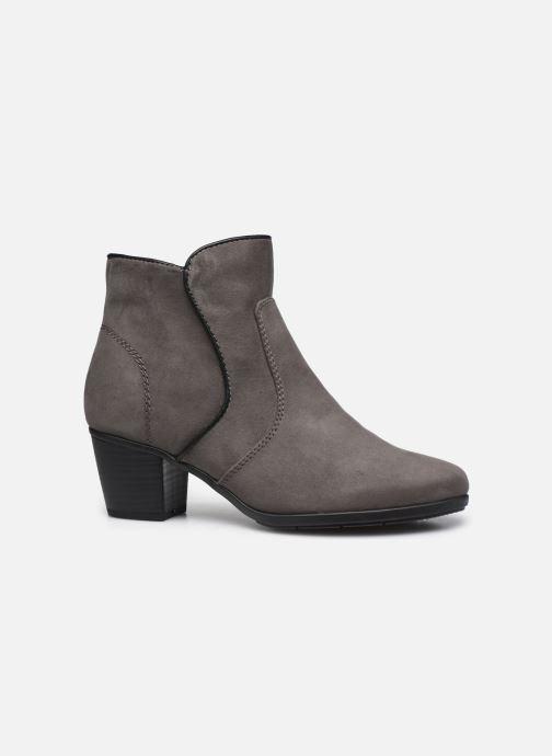 Stivaletti e tronchetti Jana shoes Dian Grigio immagine posteriore