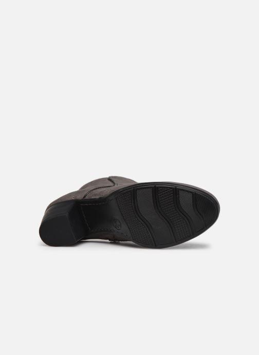 Stivaletti e tronchetti Jana shoes Dian Grigio immagine dall'alto