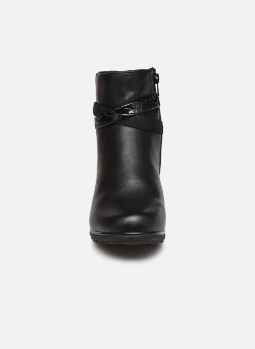 Botines  Jana shoes Meava Negro vista del modelo