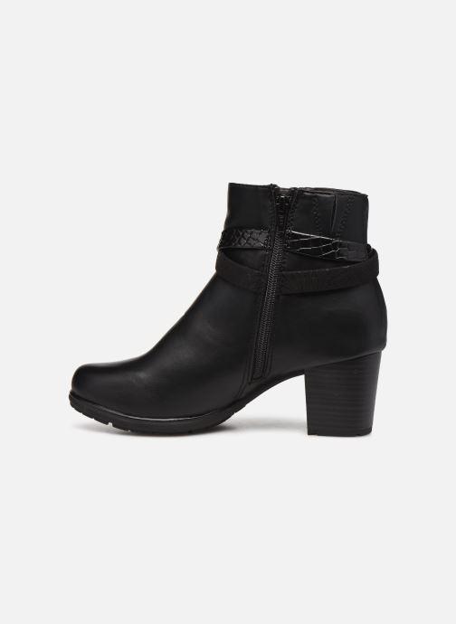 Botines  Jana shoes Meava Negro vista de frente