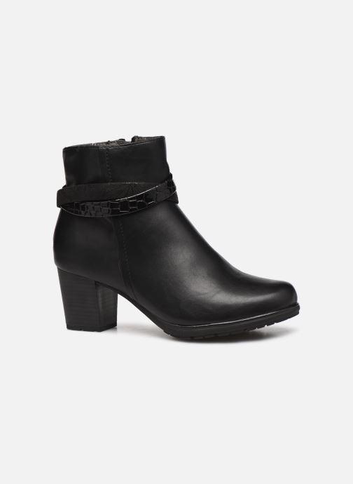 Botines  Jana shoes Meava Negro vistra trasera