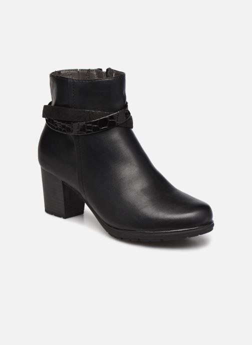 Botines  Jana shoes Meava Negro vista de detalle / par