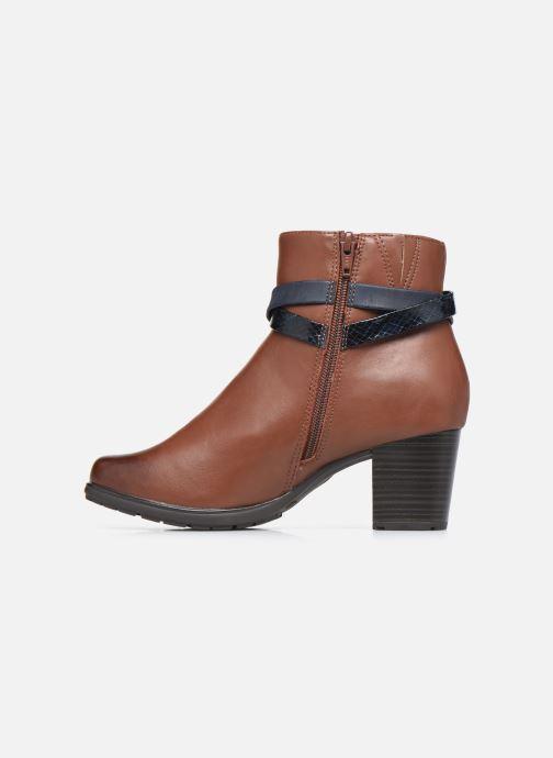 Botines  Jana shoes Meava Marrón vista de frente