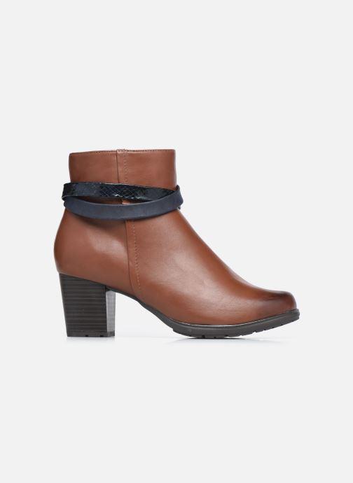 Stivaletti e tronchetti Jana shoes Meava Marrone immagine posteriore