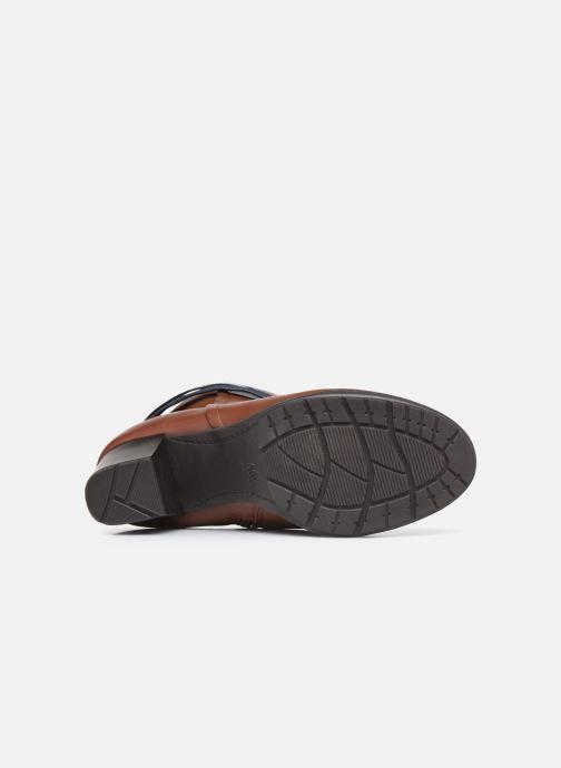 Stivaletti e tronchetti Jana shoes Meava Marrone immagine dall'alto