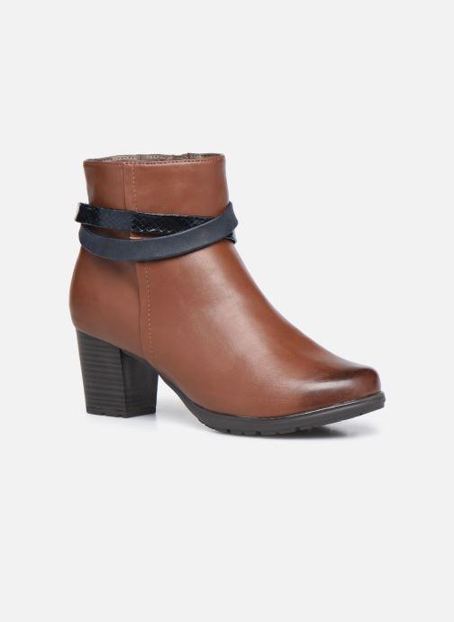 Botines  Jana shoes Meava Marrón vista de detalle / par
