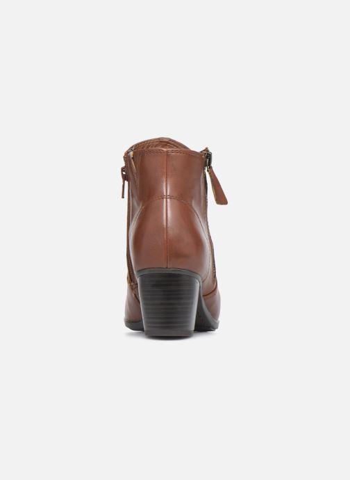 Bottines et boots Jana shoes Genam Marron vue droite