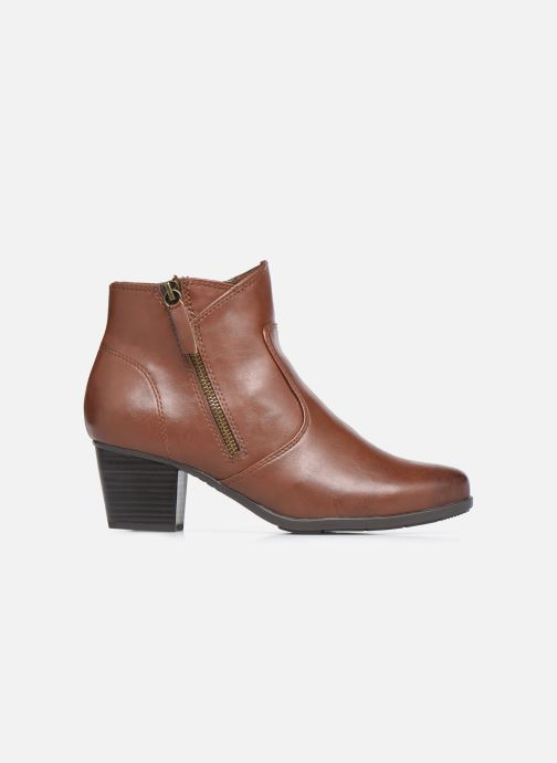 Bottines et boots Jana shoes Genam Marron vue derrière