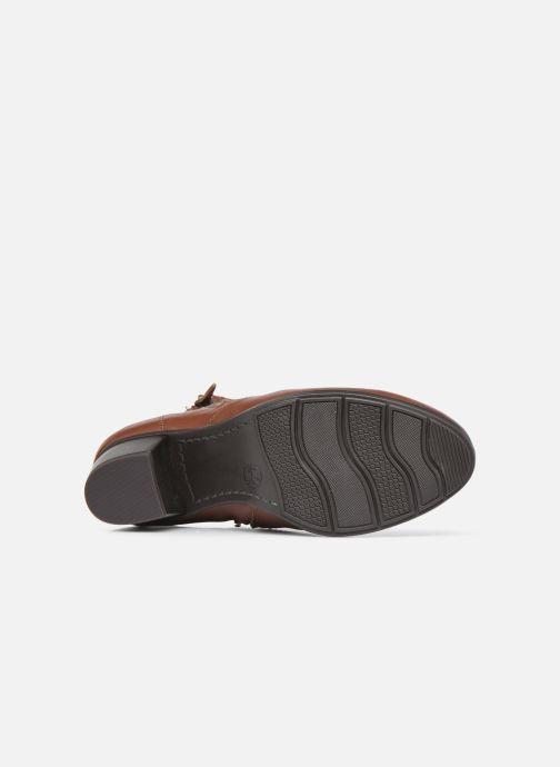 Botines  Jana shoes Genam Marrón vista de arriba