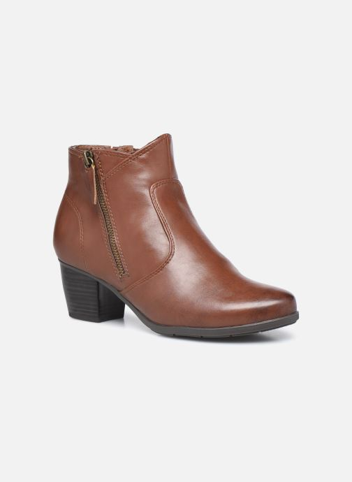 Bottines et boots Jana shoes Genam Marron vue détail/paire