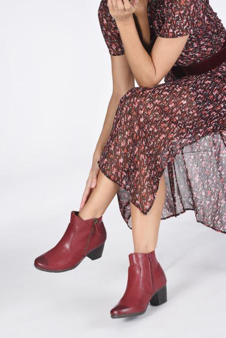 Ankelstøvler Jana shoes Genam Rød se forneden