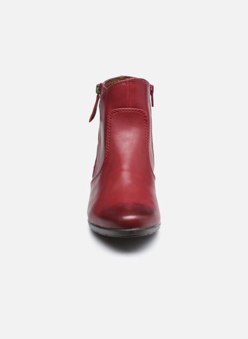 Ankelstøvler Jana shoes Genam Rød se skoene på