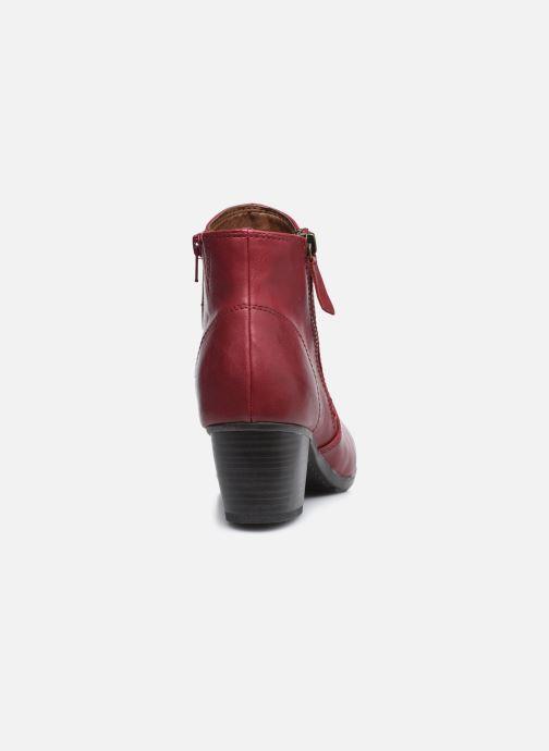 Ankelstøvler Jana shoes Genam Rød Se fra højre
