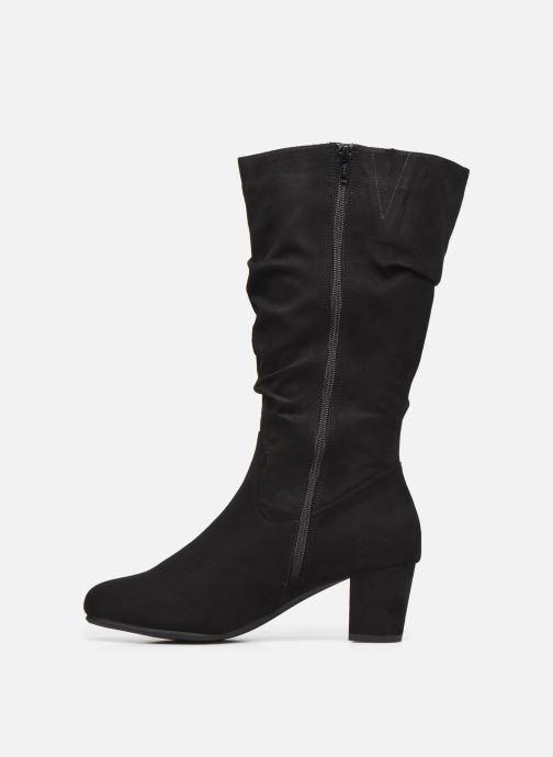 Botas Jana shoes Paga Negro vista de frente