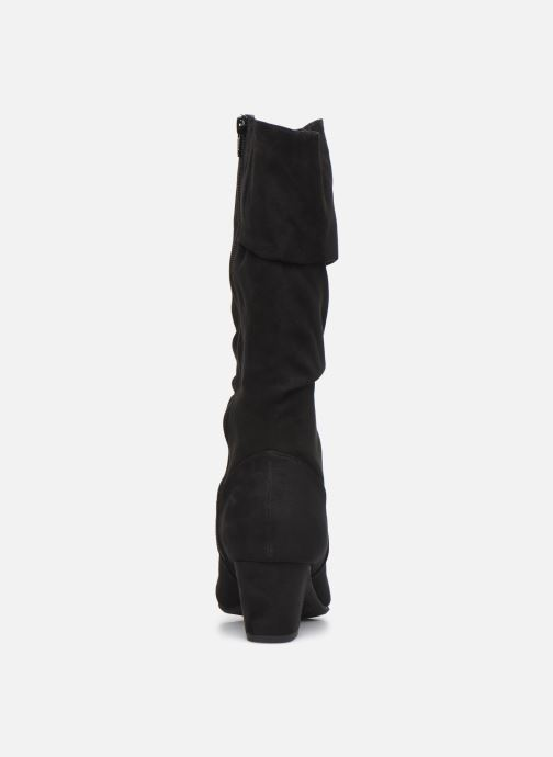 Bottes Jana shoes Paga Noir vue droite