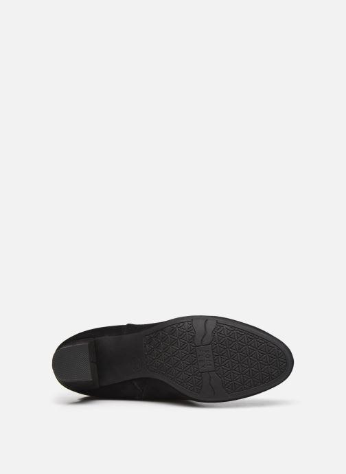 Bottes Jana shoes Paga Noir vue haut
