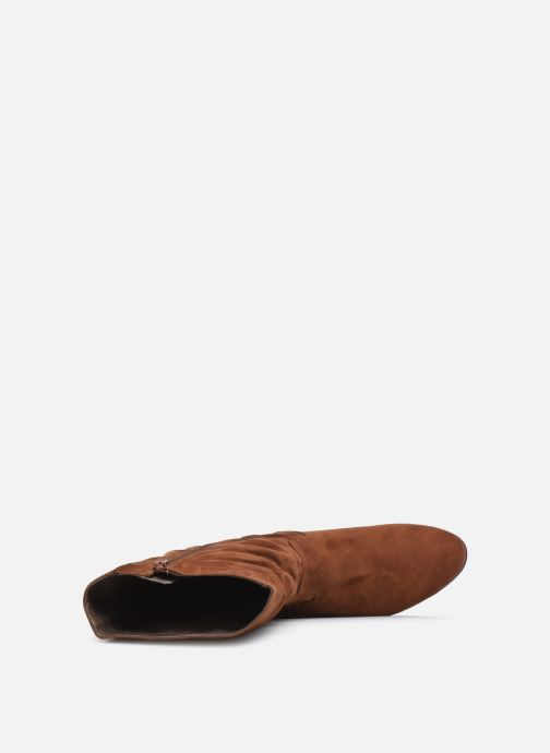 Bottes Jana shoes Paga Marron vue gauche