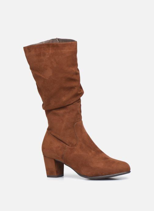 Bottes Jana shoes Paga Marron vue détail/paire