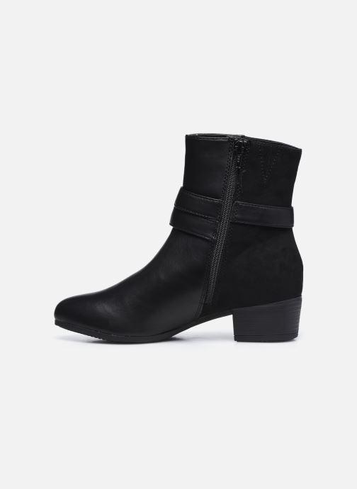 Botines  Jana shoes Manon Negro vista de frente
