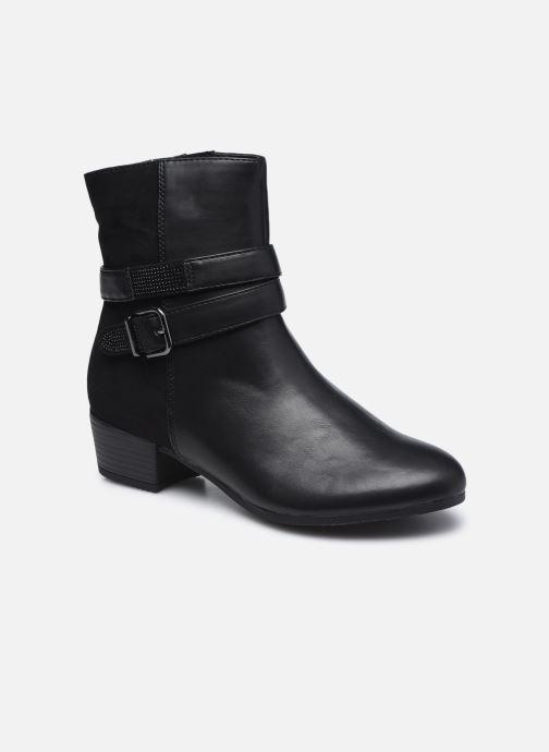 Botines  Jana shoes Manon Negro vista de detalle / par