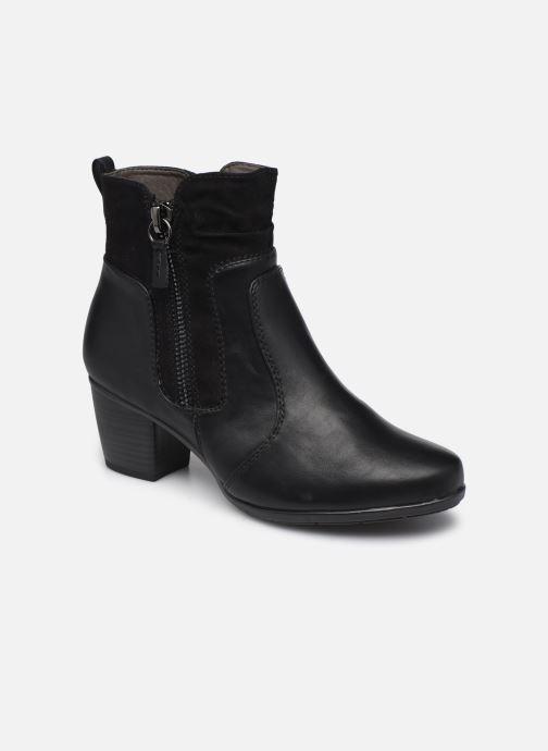 Bottines et boots Jana shoes Carlam Noir vue détail/paire