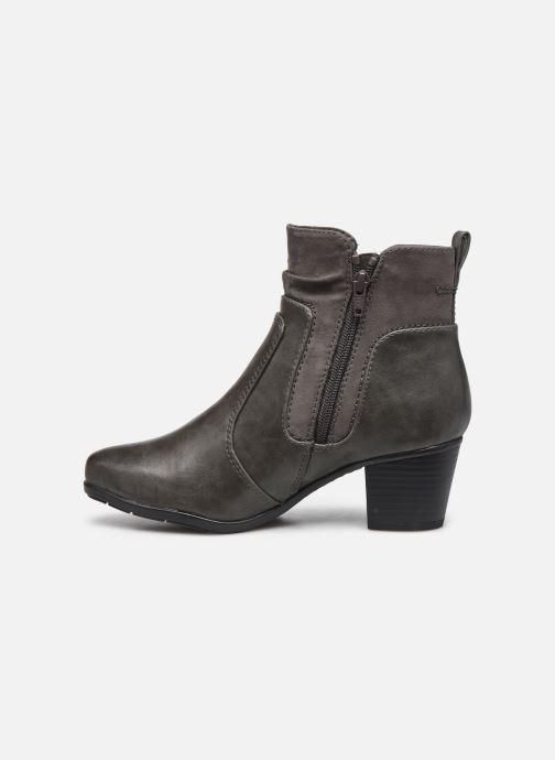 Bottines et boots Jana shoes Carlam Gris vue face