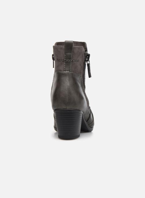 Bottines et boots Jana shoes Carlam Gris vue droite