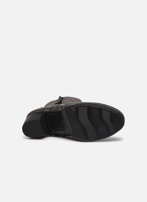 Stiefeletten & Boots Jana shoes Carlam grau ansicht von oben
