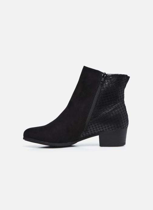 Botines  Jana shoes Vylana Negro vista de frente