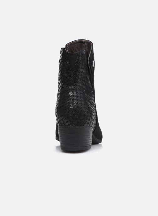 Botines  Jana shoes Vylana Negro vista lateral derecha