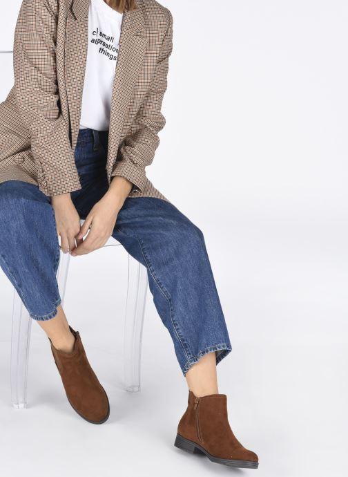 Boots en enkellaarsjes Jana shoes Adele Bruin onder