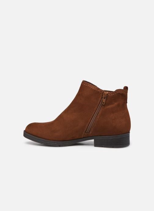 Boots en enkellaarsjes Jana shoes Adele Bruin voorkant