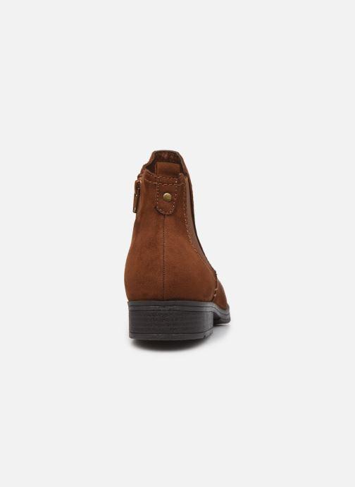 Boots en enkellaarsjes Jana shoes Adele Bruin rechts