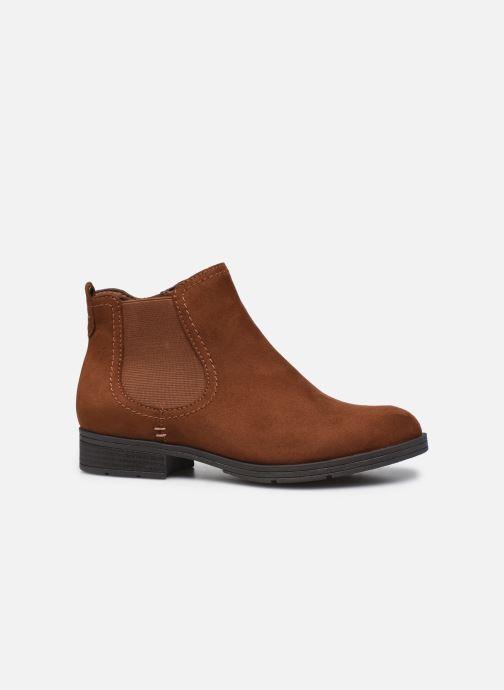 Boots en enkellaarsjes Jana shoes Adele Bruin achterkant