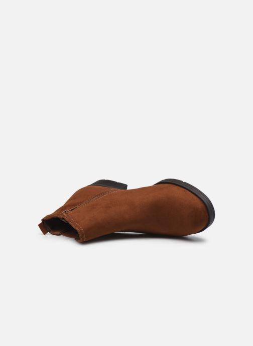 Boots en enkellaarsjes Jana shoes Adele Bruin links
