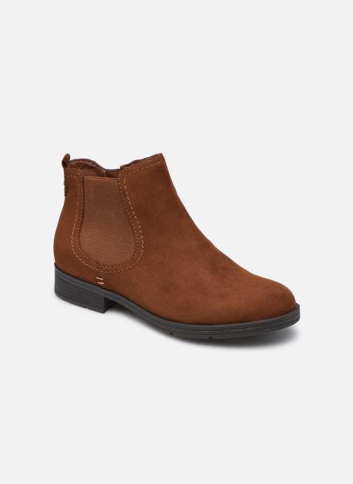 Boots en enkellaarsjes Jana shoes Adele Bruin detail