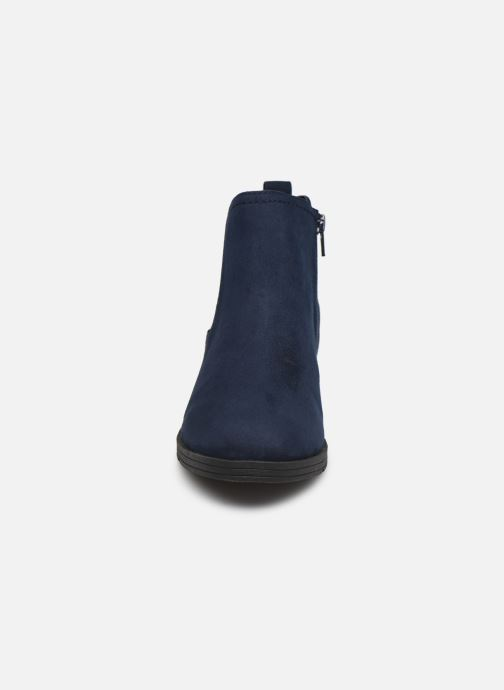 Bottines et boots Jana shoes Adele Bleu vue portées chaussures