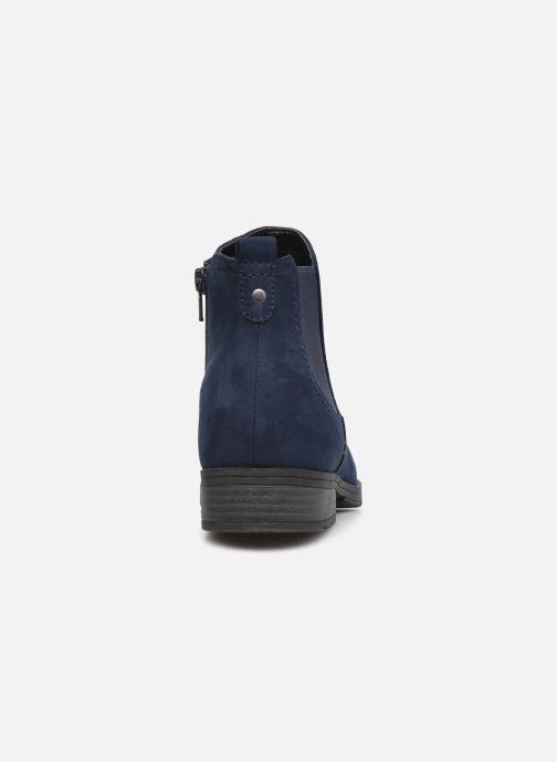 Botines  Jana shoes Adele Azul vista lateral derecha