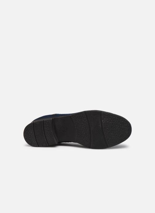 Bottines et boots Jana shoes Adele Bleu vue haut