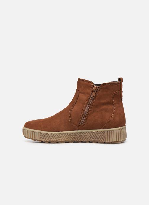 Botines  Jana shoes Fromica Marrón vista de frente