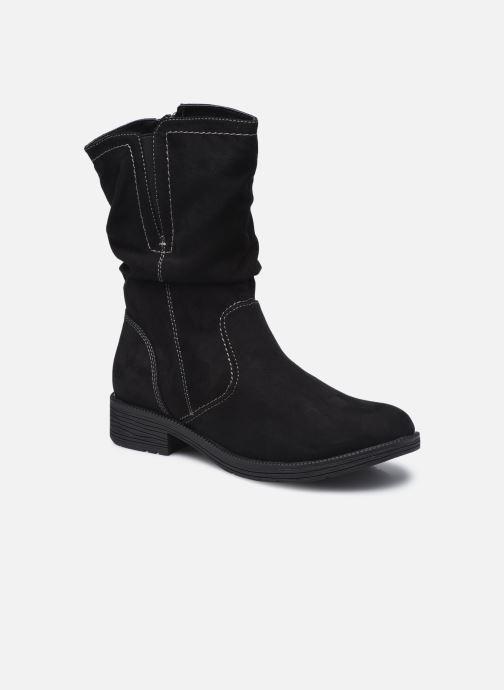 Bottines et boots Jana shoes Anaka Noir vue détail/paire