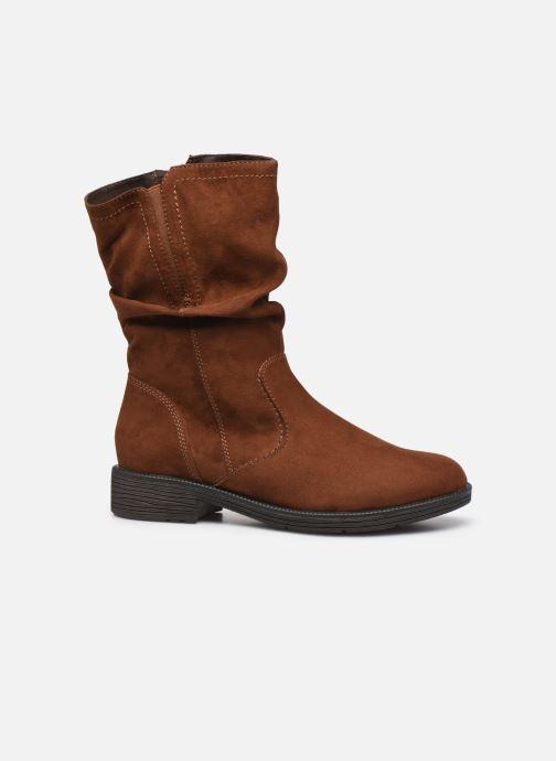 Boots en enkellaarsjes Jana shoes Anaka Bruin achterkant
