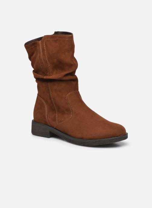 Boots en enkellaarsjes Jana shoes Anaka Bruin detail