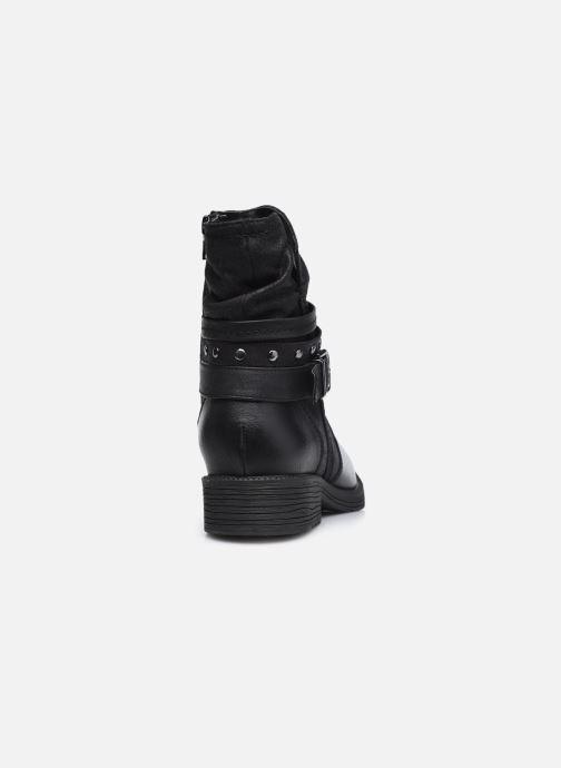 Botines  Jana shoes Kasita Negro vista lateral derecha