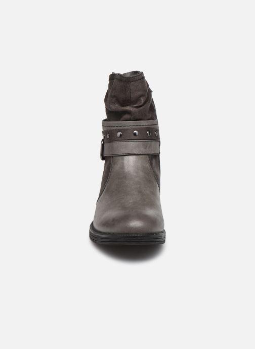 Botines  Jana shoes Kasita Gris vista del modelo