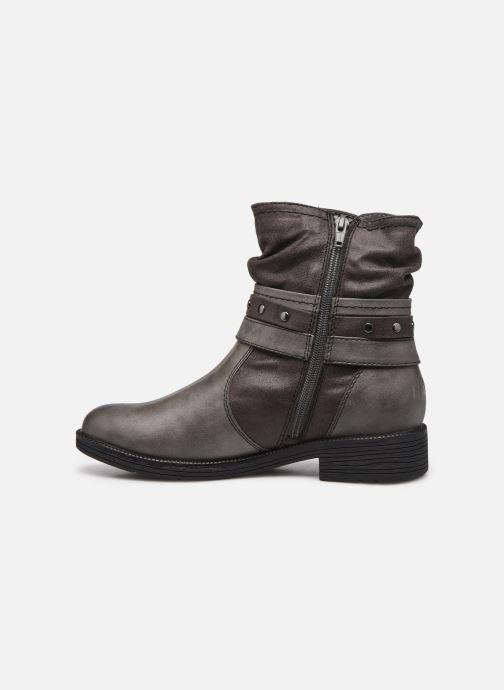 Bottines et boots Jana shoes Kasita Gris vue face