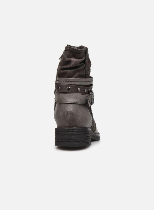 Bottines et boots Jana shoes Kasita Gris vue droite