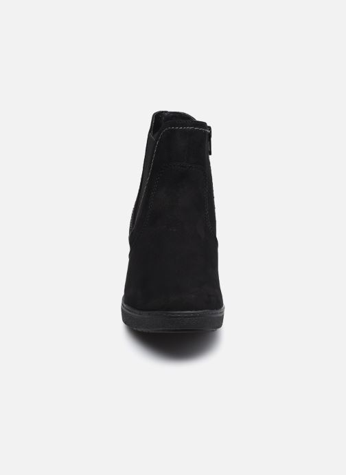 Botines  Jana shoes sacha Negro vista del modelo