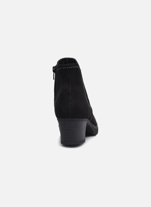 Botines  Jana shoes sacha Negro vista lateral derecha