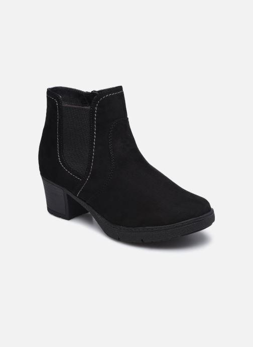 Botines  Jana shoes sacha Negro vista de detalle / par